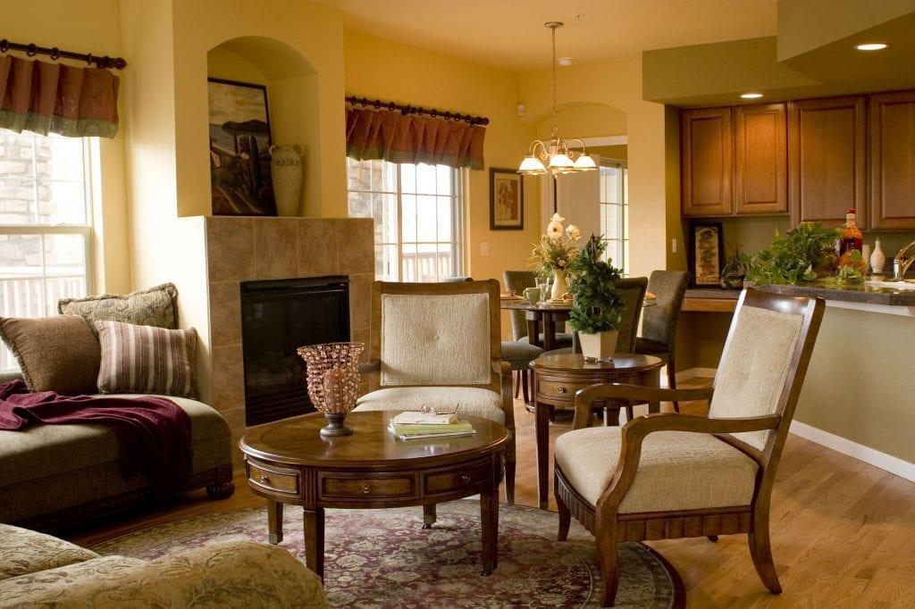 model-1-living-room
