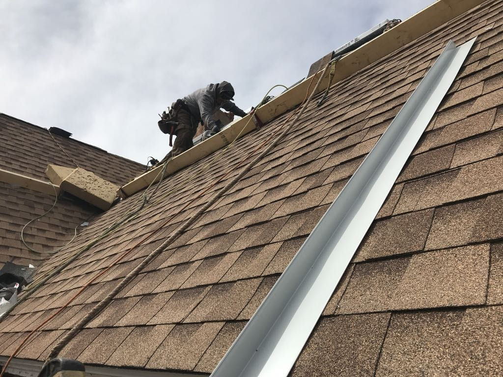Steep roof replacement in Wheat Ridge
