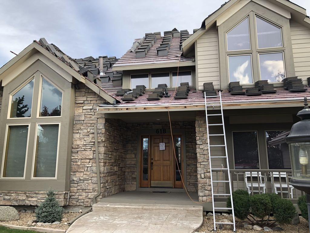 Boral Saxony Slate Tile Install in Louisville