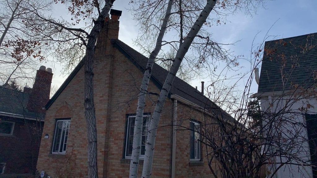 Completed roof in Denver