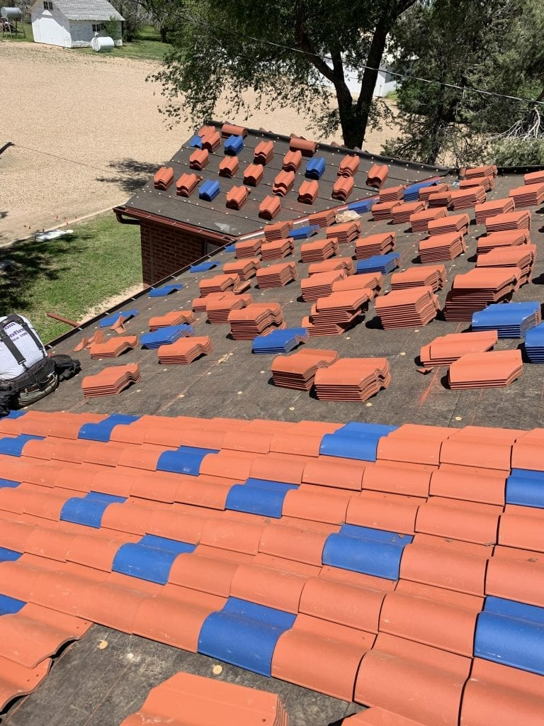Ludowici (clay tile) in Denver