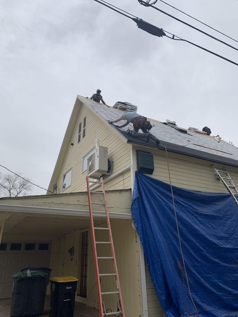 Steep roof install in Wheat Ridge